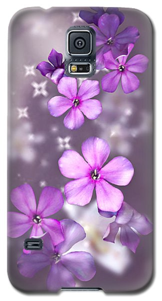 Galaxy S5 Case featuring the photograph Phlox And Lilies by Judy  Johnson