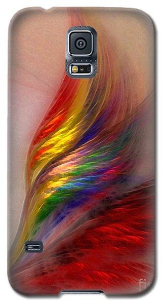 Phoenix-abstract Art Galaxy S5 Case