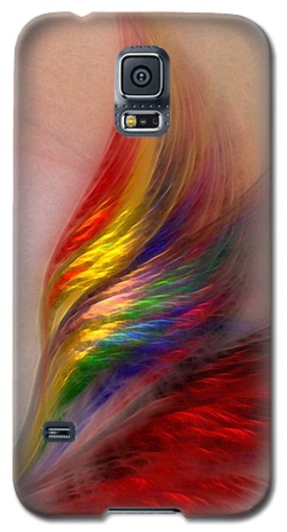 Phoenix-abstract Art Galaxy S5 Case