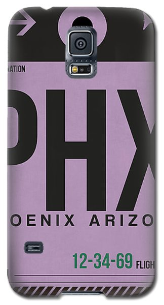 Phoenix Airport Poster 1 Galaxy S5 Case by Naxart Studio