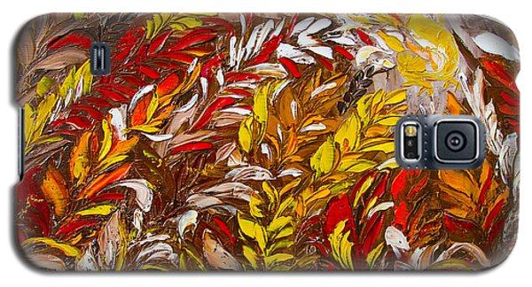 Phoenix Flower Painting Galaxy S5 Case