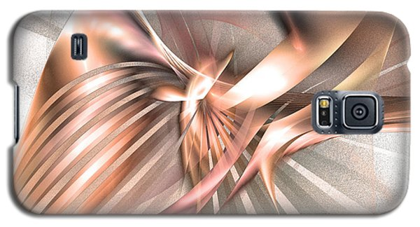 Phoenix Of The Future - Abstract Art Galaxy S5 Case