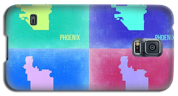 Phoenix Pop Art Map 1 Galaxy S5 Case by Naxart Studio