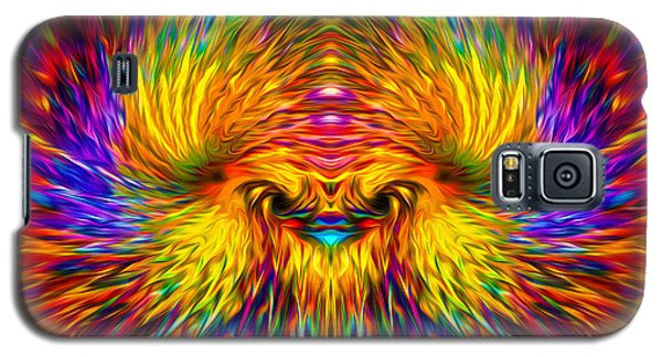 Galaxy S5 Case featuring the painting Phoenix Rising  by Jalai Lama