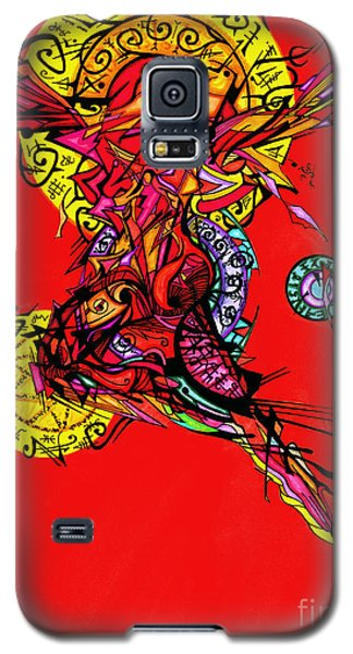 Phoenix Woman  Galaxy S5 Case