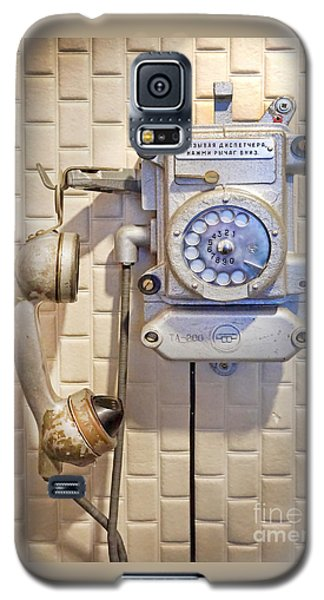 Phone Kgb Surveillance Room Galaxy S5 Case by Martin Konopacki