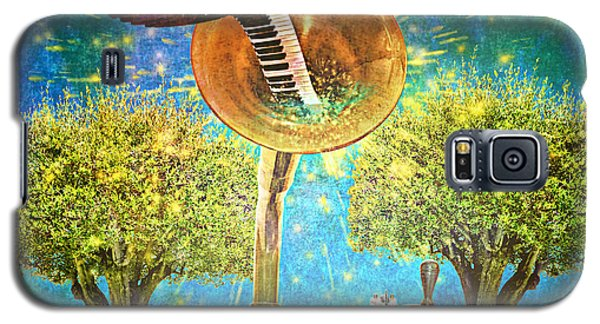 Phonograph Magic Galaxy S5 Case by Ally  White