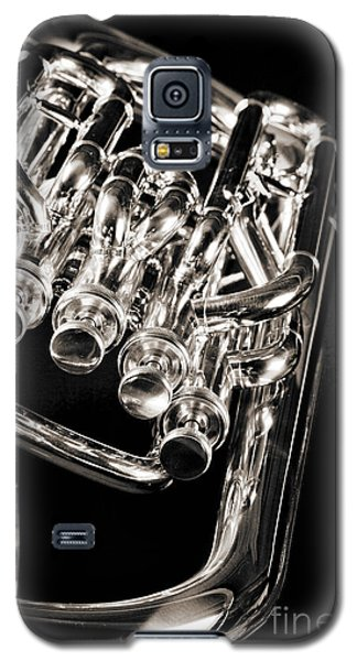 Photograph Of A Music Tuba Brass Instrument In Sepia 3284.01 Galaxy S5 Case