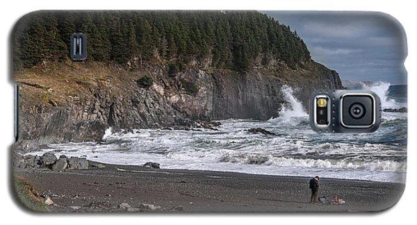 Photographer On Atlantic Beach Galaxy S5 Case