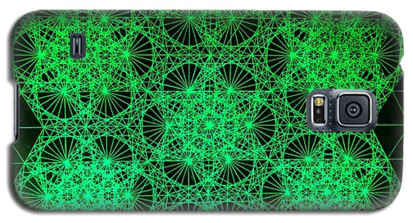 Galaxy S5 Case featuring the drawing Photon Interference Fractal by Jason Padgett