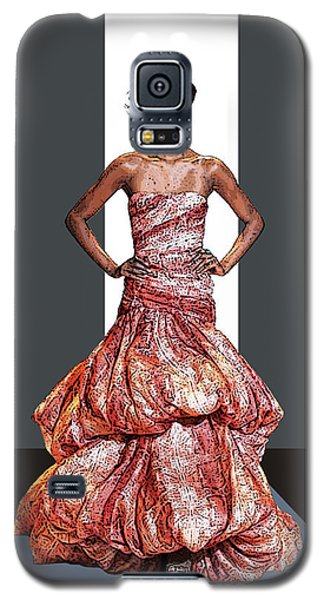 Ms. Phyllis Hyman Galaxy S5 Case