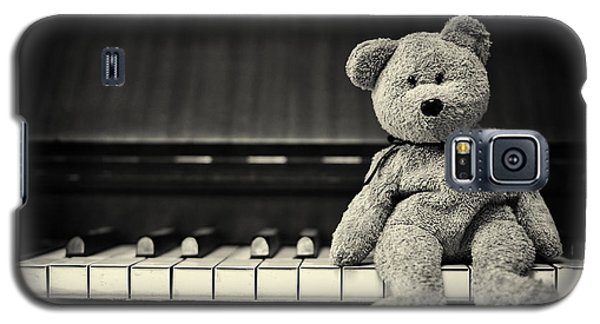Piano Bear Galaxy S5 Case