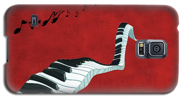 Piano Fun - S01at01 Galaxy S5 Case by Variance Collections