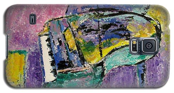 Piano Green Galaxy S5 Case