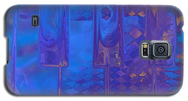 Galaxy S5 Case featuring the digital art Piano Music by Constance Krejci