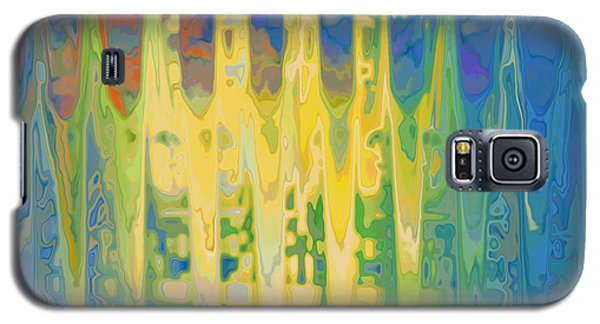 Galaxy S5 Case featuring the digital art Piano Parts by Constance Krejci