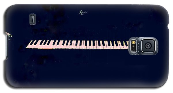 Galaxy S5 Case featuring the mixed media Piano by YoMamaBird Rhonda