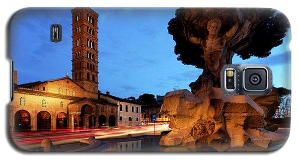 Piazza Della Bocca Della Verita' Galaxy S5 Case