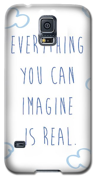 Picasso Quote Galaxy S5 Case by Gina Dsgn