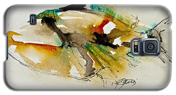 Galaxy S5 Case featuring the painting Picasso Trigger by Jani Freimann