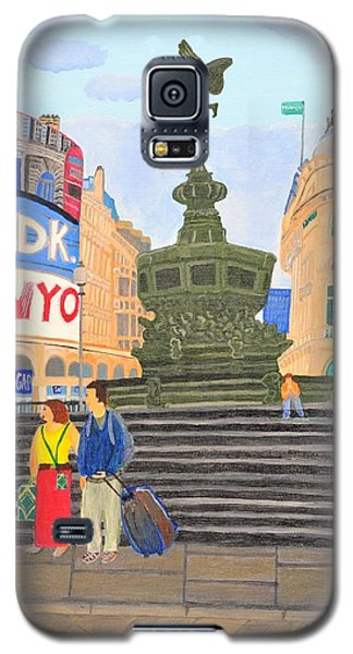 London- Piccadilly Circus Galaxy S5 Case