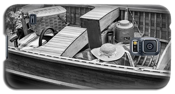 Galaxy S5 Case featuring the photograph Picnic Boat by Ross Henton