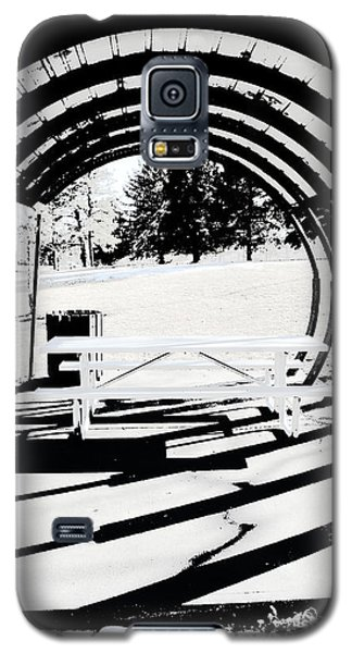 Picnic Table And Gazebo Galaxy S5 Case