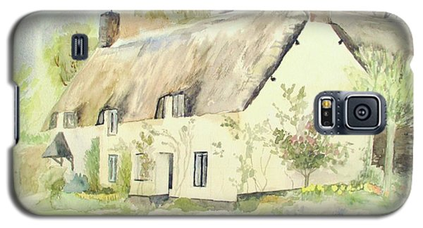 Picturesque Dunster Cottage Galaxy S5 Case by Martin Howard