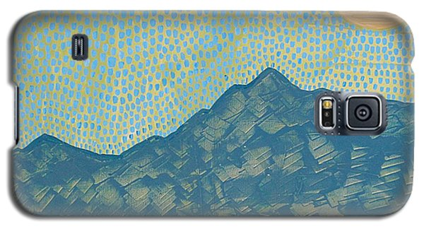 Picuris Mountains Original Painting Galaxy S5 Case