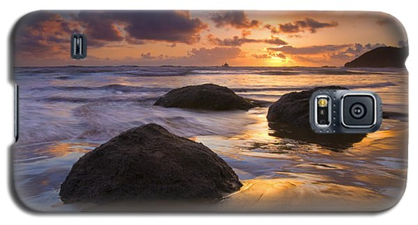 Sunset Galaxy S5 Case - Pieces Of Eight by Mike  Dawson