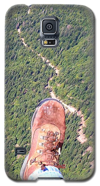 Galaxy S5 Case featuring the photograph Pieds Loin Du Sol by Marc Philippe Joly