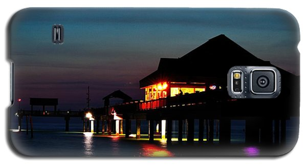 Galaxy S5 Case featuring the photograph Pier 60 In After Glow by Richard Zentner