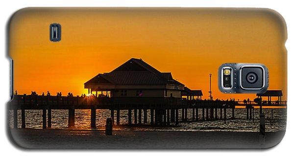 Pier 60 Sunset Galaxy S5 Case
