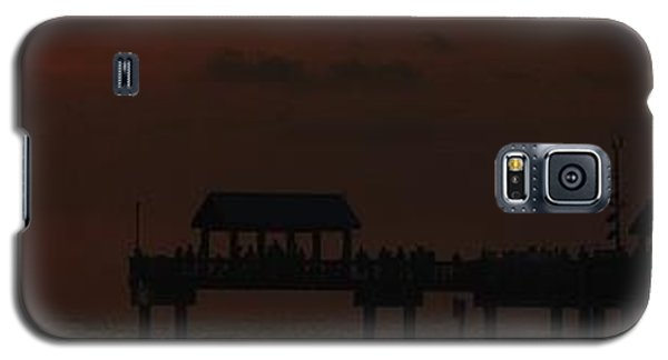 Galaxy S5 Case featuring the photograph Pier 60 Sunset Panorama by Richard Zentner