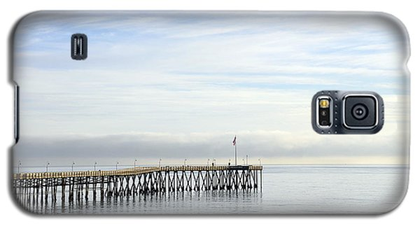 Galaxy S5 Case featuring the photograph Pier by Gandz Photography