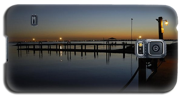 Pier At Chandlers Landing Rockwall Tx Galaxy S5 Case