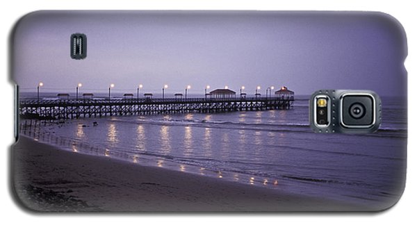 Galaxy S5 Case featuring the photograph Pier At Dusk by Lana Enderle