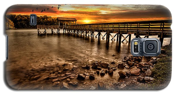 Pier At Smith Mountain Lake Galaxy S5 Case