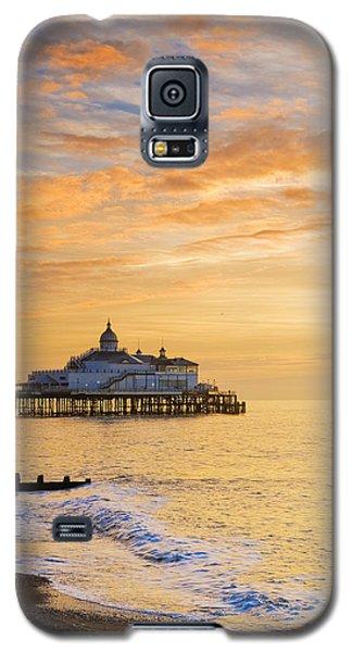 Pier At Sunrise Galaxy S5 Case
