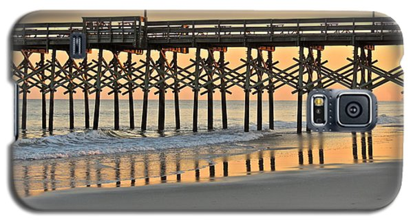 Pier At Sunset Galaxy S5 Case by Eve Spring