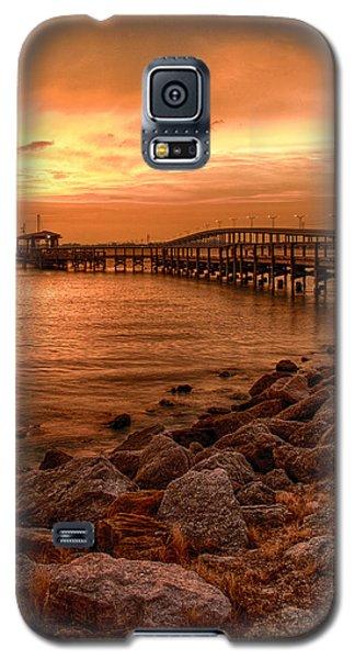 Pier In The Ocean Galaxy S5 Case
