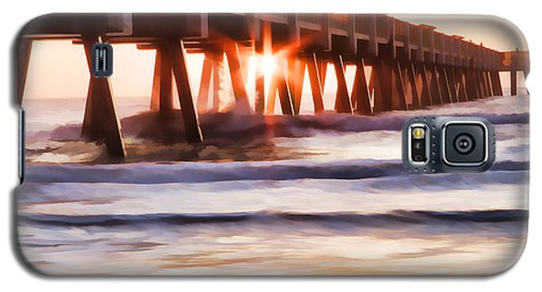 Pier Sunrise Too Galaxy S5 Case