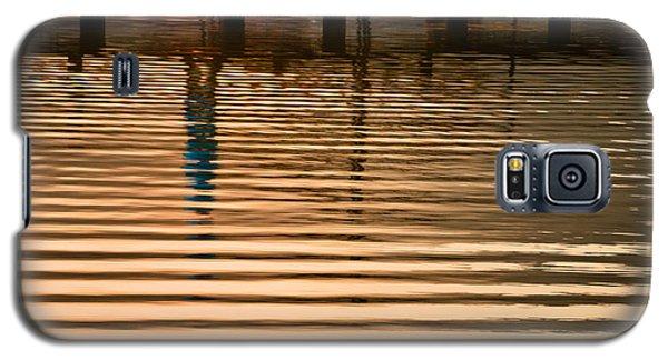 Pier Walk Galaxy S5 Case by Joan Herwig