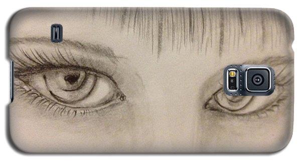 Piercing Eyes Galaxy S5 Case by Bozena Zajaczkowska