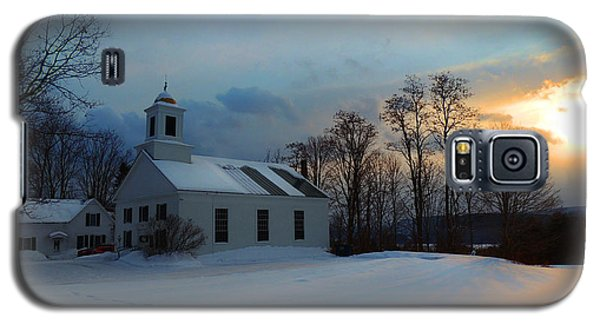 Piermont Church In Winter Light Galaxy S5 Case