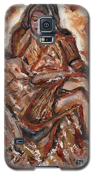 Pieta Galaxy S5 Case by Lori  Lovetere