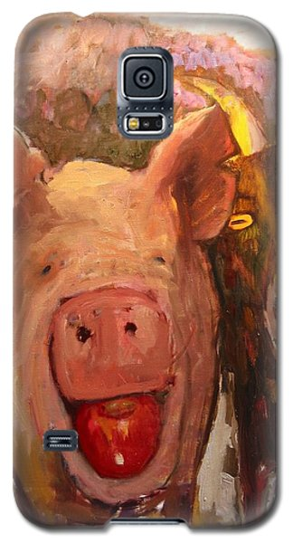 Pig And Goat Galaxy S5 Case