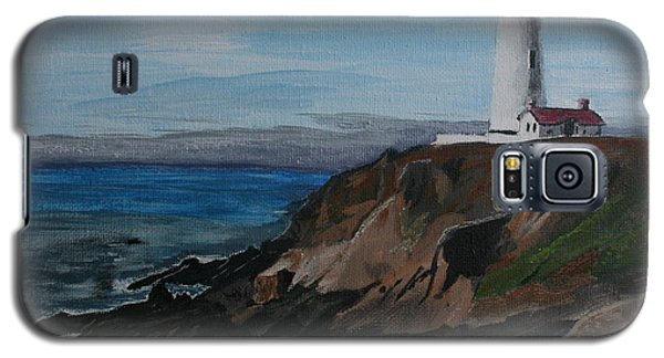 Pigeon Lighthouse Daytime Titrad Galaxy S5 Case by Ian Donley