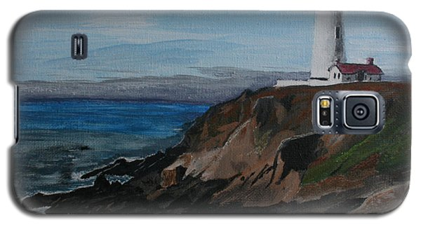 Pigeon Lighthouse Daytime Titrad Galaxy S5 Case