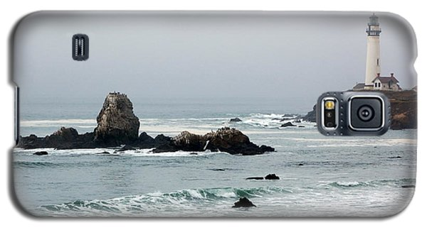 Pigeon Point Lighthouse In The Fog Galaxy S5 Case